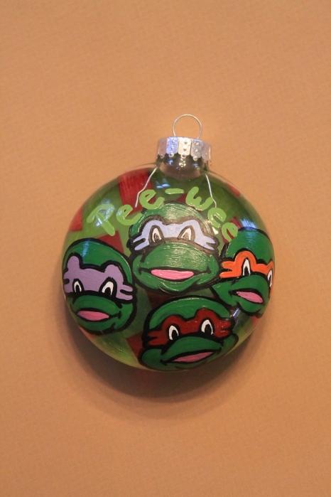 Ninja Turtle Christmas Ordainments