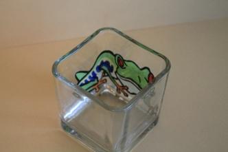 Frog Votive